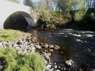 Bridge Pool, Grantown on Spey