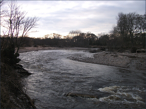 River Nairn between Cawdor and Howford