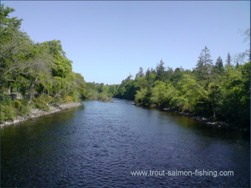 The Cross Hedges and Island pass, Inverness Angling Club