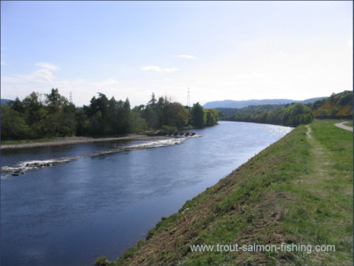 Red Braes, River Ness salmon fishing