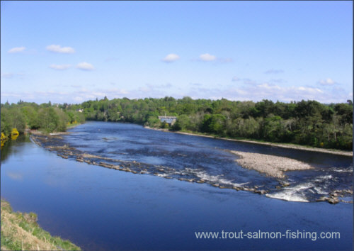 Inverness Angling Club - Weir and Mill Stream