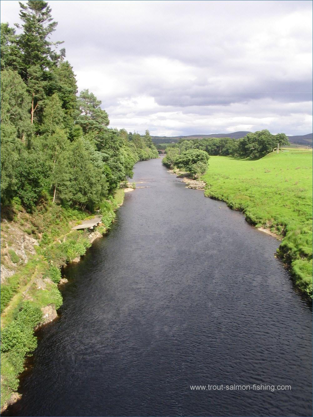 River Carron Fishing Map Map-scotland-river-carron