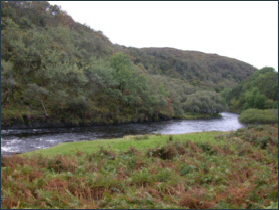 River Kirkaig Salmon Fishing