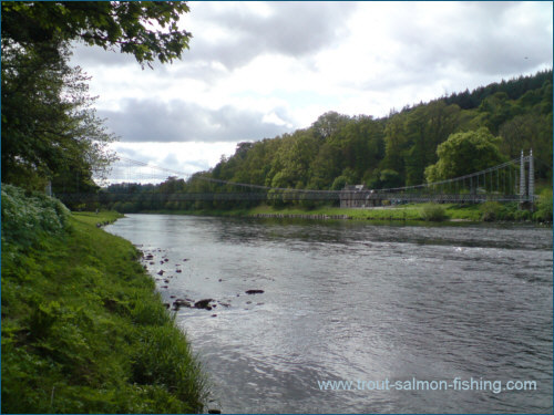 The Boat Pool at Aberlour on the Spey