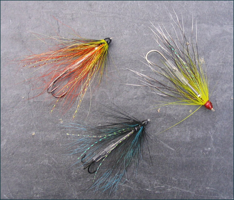 A selection of Bead Tube Flies for salmon