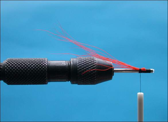 The Beltra Badger Tube Fly - step 2