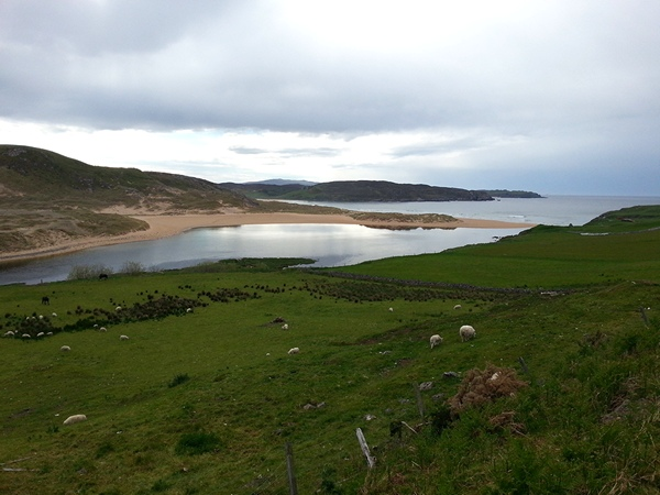The River Naver Estuary at Bettyhill