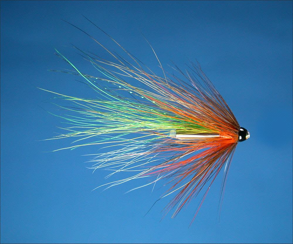 Dusty miller tube fly for Millers river fly fishing