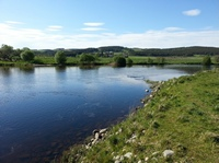 Fishing the River Spey at Grantown