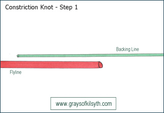 Constiction Knot - Step One