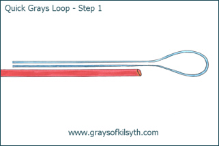 Grays Loop Fly Line Leader Loop - Step One