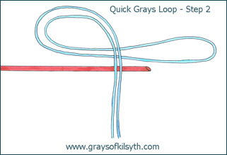 Grays Loop Fly Line Leader Loop - Step 2