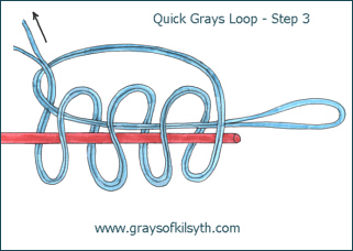 Grays Loop Fly Line Leader Loop - Step Three