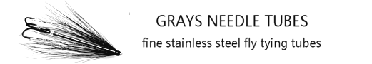 Grays Needle Tubes and Tube Flies