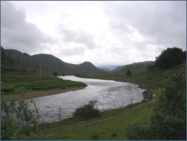 River Gruinard - salmon and sea trout fishing