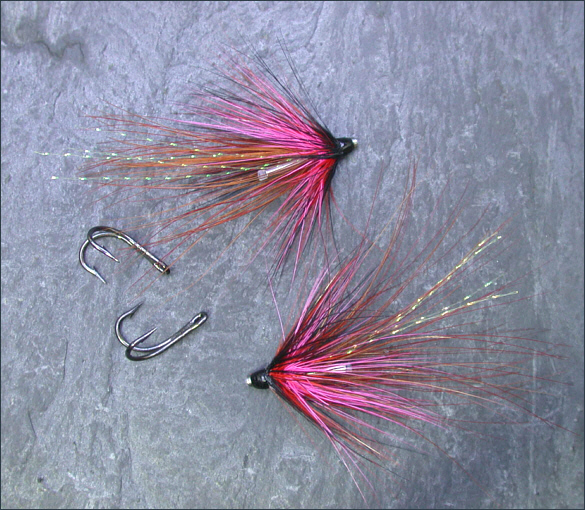 The Lammas Shrimp Tube Flies