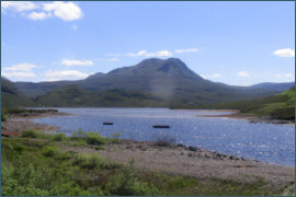 Trout fishing - Loch bad an Scalaig