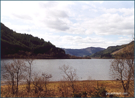 Fishing Loch Lubnaig