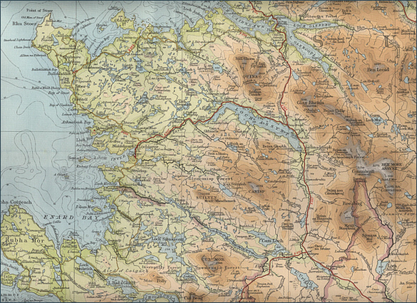 Map of Assynt