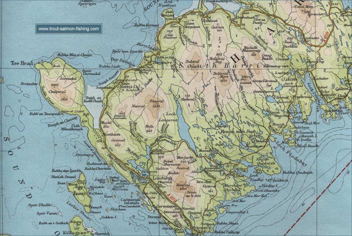 schottland google maps