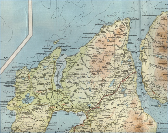Fishing Map - Islay North