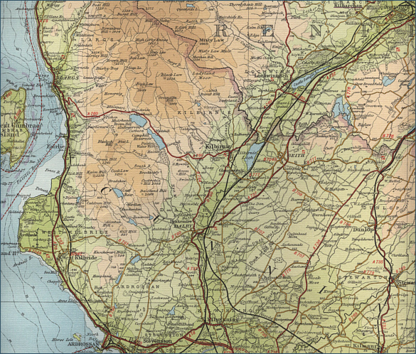 Ayrshire North - Fishing Map
