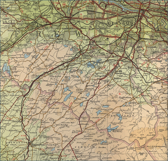 Map - Trout Fishing Glasgow South