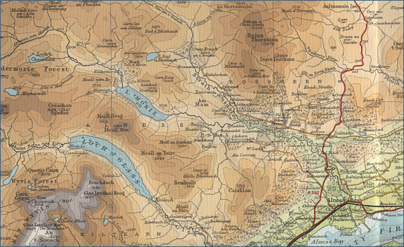 River Alness Fishing Map