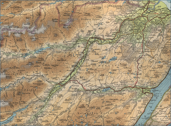 River Beauly Fishing Map