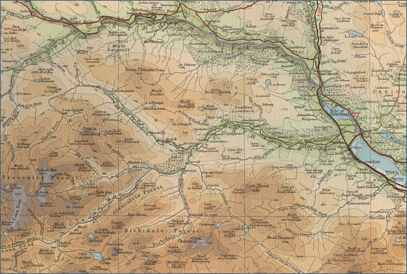 River Carron Fishing Map