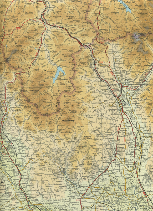 Upper River Clyde Map