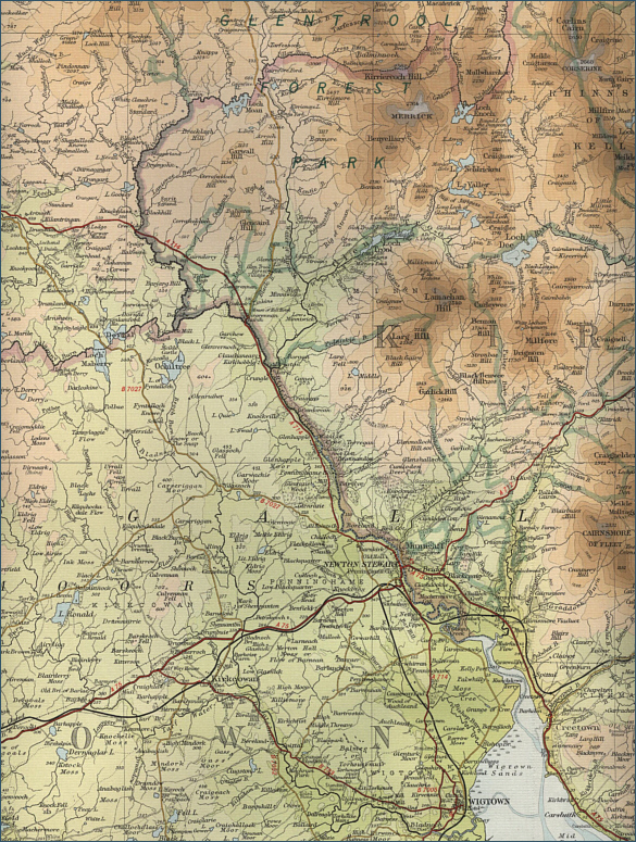 River Cree Map