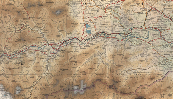 Middle River Dee map