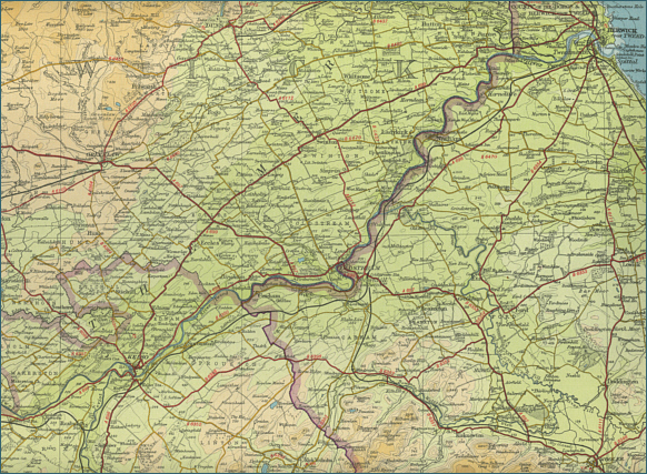 Lower River Tweed Map