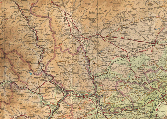 Middle River Tweed Map