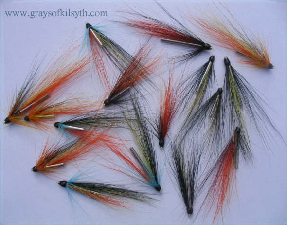 A selection of Grays Needle Tube Flies