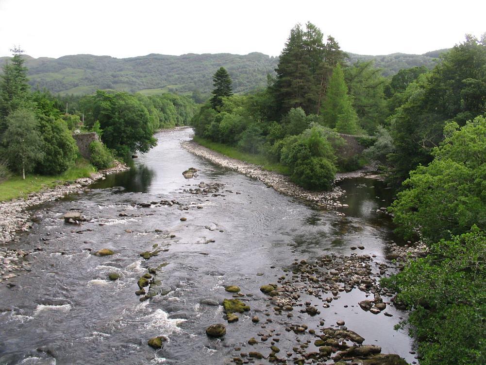 River Awe Fishing River Awe