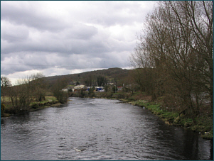 River Cree at Newton Stewart - salmon fishing