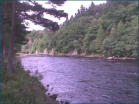 Salmon Fishing on the River Dee above Ballater