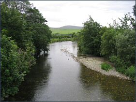 River Don fishing at Glenkindie