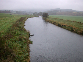 Trout Fishing on the River Don at Monymusk