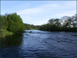River Spey at Auchernack Burn