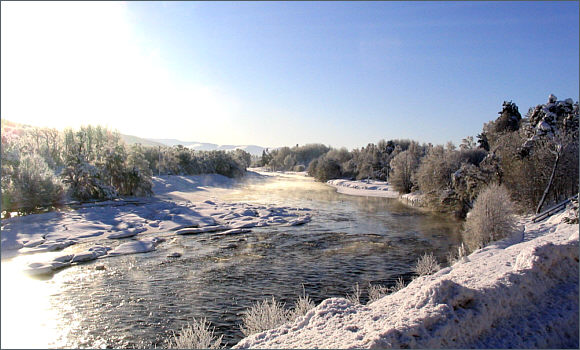 Winter on the River Spey