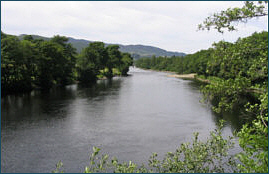 River Tummel at Pitlochry