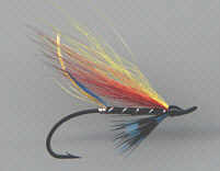 Salmon fly - Garry