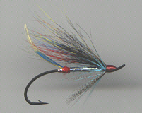 Salmon fly - Silver Doctor