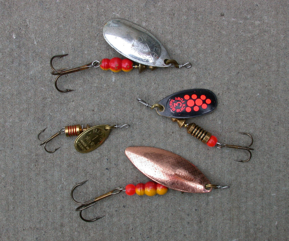 Best trout spinning reels search results million gallery for Best salmon fishing lures