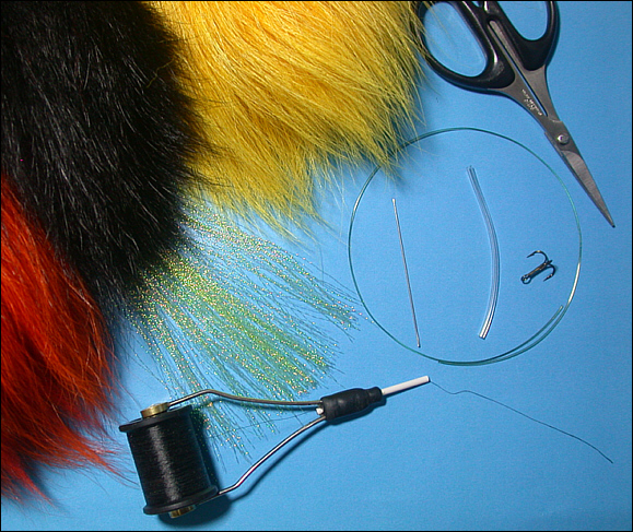 Needle Fly tying materials