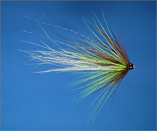 Speing Green Scottish Shrimp Needle Tube Fly