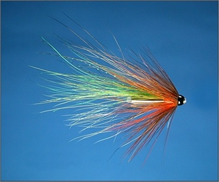 Green Miller Scottish Shrimp Needle Tube Fly